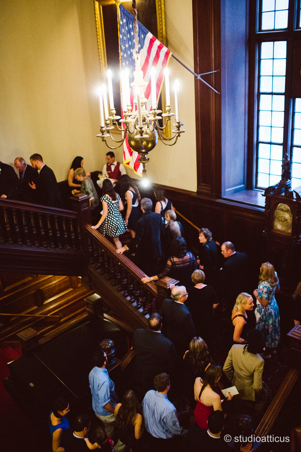 Boston Harvard Club Wedding S I Studio Atticus