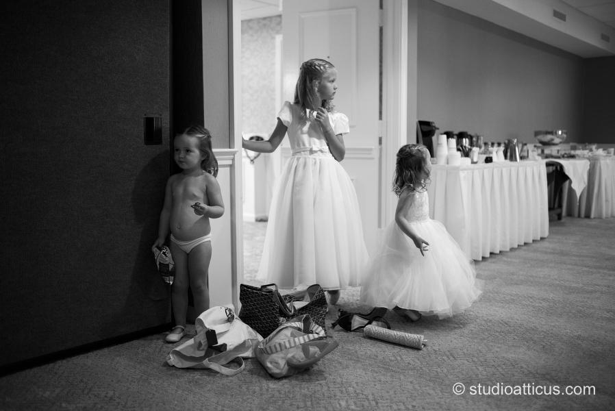 300a2a946c Flower girls at Wequassett Inn   Resort wedding in Cape Cod - Studio ...